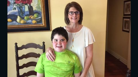 Seph, 14, was diagnosed with Duchenne muscular dystrophy when he was 3. He and his mom, Lori Watkins-Ware, are grateful to have Presley as a member of the family.