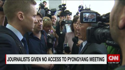 challenge of reporting from North Korea will ripley pkg_00011630.jpg