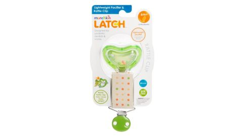 Consumers should take the clip away from young children and contact Munchkin for a free replacement Lightweight Pacifier pack with two pacifiers or a full refund.