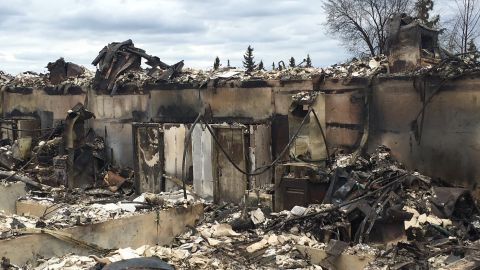CNN's Dan Simon went on a tour of the area that the massive wildfires in Fort McMurray ripped through in Alberta. The wildfire forced the evacuation of almost 90,000 people.