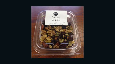 """Publix has <a href=""""http://www.cnn.com/2016/05/11/health/publix-recall-cranberry-nut-mix-listeria/index.html"""">issued a voluntary recall</a> for its cranberry nut and seed mix due to listeria concerns."""