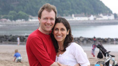 Richard Ratcliffe and wife Nazanin Zaghari-Ratcliffe.