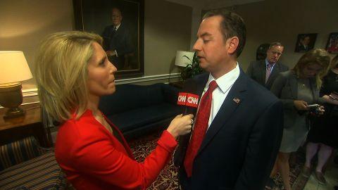 Reince Priebus talks to CNN's Dana Bash