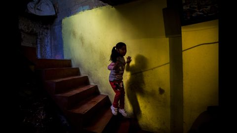 Karla Patricia is the daughter of Anayeli, a 23-year-old who disappeared in October. Anayeli left for work in the morning but never arrived.