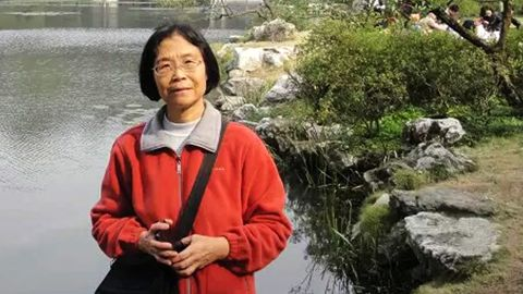 A recent photo of Yu Xiangzhen
