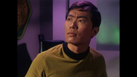 Takei is best know for his role as Sulu, the helmsman of the USS Enterprise on Star Trek.