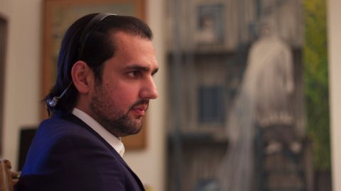 Shahbaz Taseer, a prominent Pakistani who was held captive by the Taliban and others for five years and was just freed in March.