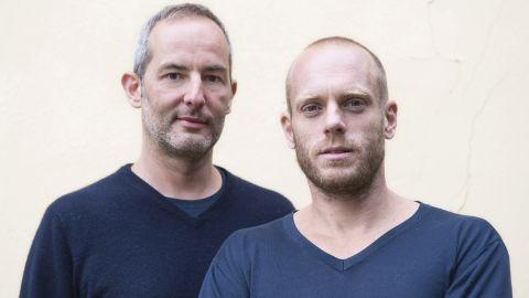 Photographers Edoardo Delille, right, and Gabriele Galimberti