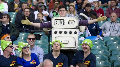 """Last year, one fan dressed as the gas cooker from the Wallace and Gromit movie """"A Grand Day Out."""""""
