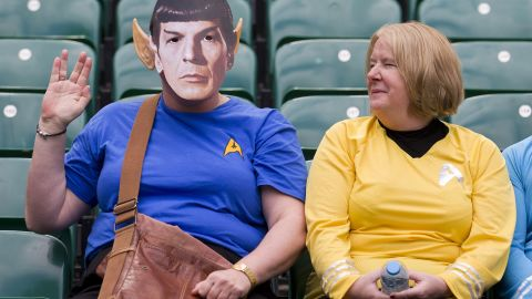 Trekkies tend to be in attendance, as evidenced a year ago in the English capital.