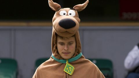Cartoon characters such as Scooby-Doo are also popular.