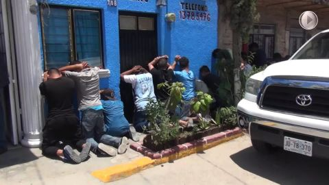 Several people were detained in the operation, the Jalisco State's Attorney's Office said.