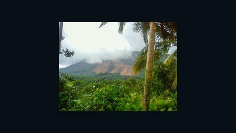A landslide in Aranayake in central Sri Lanka buried three villages.