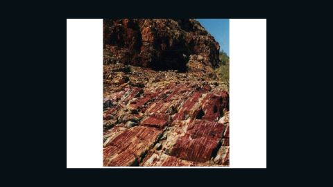 Marble Bar, the Western Australia site of discovery of miniscule glass spherules, evidence of an ancient asteroid impact