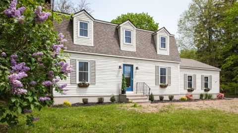 AFTER: After renovations, they listed it for sale in  May for $389,000.