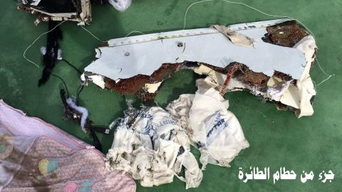 Search crews have recovered wreckage from EgyptAir Flight 804.