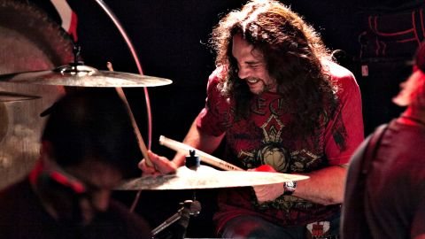 """Drummer <a href=""""http://www.cnn.com/2016/05/22/living/nick-menza-ex-megadeth-drummer-death-trnd/index.html"""" target=""""_blank"""">Nick Menza</a>, who played on many of Megadeth's most successful albums, died after collapsing on stage during a show with his current band, Ohm, on May 21. He was 51."""