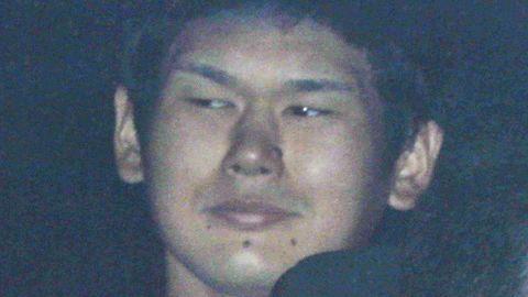 Suspect Tomohiro Iwazaki