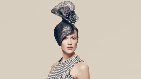 Philip Treacy hat, £1,485 ($2,100), available at Fenwicks.