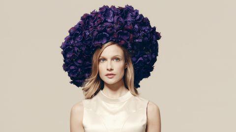 Rachel Trevor-Morgan hat, £1,465 ($2,100), available at Fenwicks.
