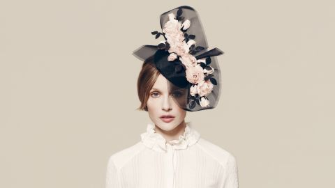 William Chambers hat, £895 ($1,300), available at Fenwicks.
