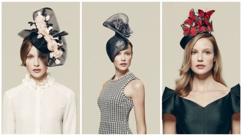 Britian's famous horse race, Royal Ascot, asked eight top milliners to design their ultimate hats.