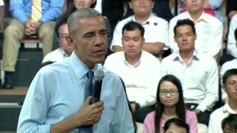 obama ho chi minh city town hall american politics sot _00002517.jpg