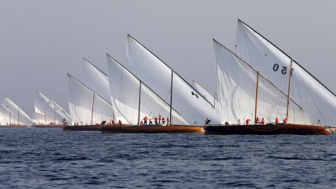 The inaugural event in 1991 saw 53 dhows competing, but today that number has doubled. Over 3,000 participants sail the Gulf seas for up to eight hours of racing.