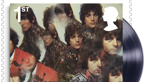 """New Royal Mail stamp shows """"The Piper at The Gates of Dawn"""" album cover, released by EMI Columbia in 1967."""