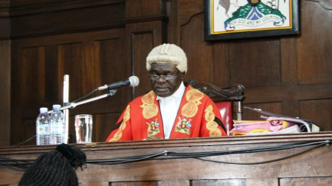 High Court Justice Aphonse Owinyi Dollo is expected to sentence the seven men on Friday.