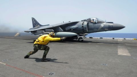 <strong>May 6, 2016:</strong> A Marine AV-8B crashed into water after a loss of thrust off North Carolina Pilot ejected safely. <br /><strong>March 8, 2016: </strong> A Marine AV-8B applying take-off power caught fire on deck of ship in the Persian Gulf. Cost $62.8M