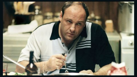 """James Gandolfini's Tony Soprano was the mob boss who killed while visiting colleges with his daughter on """"The Sopranos."""""""