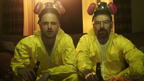 """Bryan Cranston's Walter White, right, in """"Breaking Bad"""" was the ultimate 21st-century antihero: a teacher-turned-meth kingpin."""