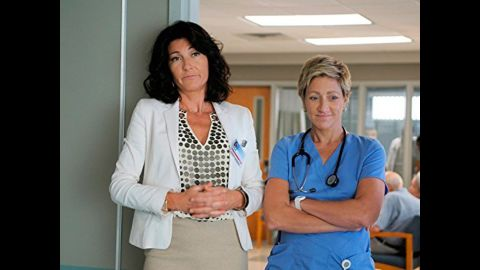"""Edie Falco, right, was both brilliant and bad in """"Nurse Jackie."""""""