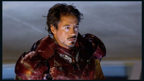 """Robert Downey Jr. embodied Tony Stark's dark personal history in the title role in """"Iron Man."""""""