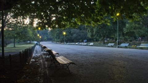 Parc Monceau, in Paris' 8th arrondissement, is a popular spot for locals and tourists alike.