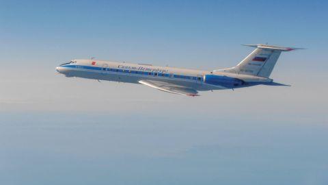 A Russian Tu-134AK