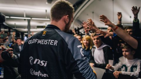"""Olof """"olofmeister"""" Kajbjer: """"It's weird. You walk around and people want to take pictures and you don't really understand it."""""""