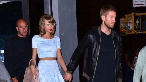 """<a href=""""http://www.people.com/people/package/article/0,,20981907_21010218,00.html"""" target=""""_blank"""" target=""""_blank"""">People reported</a> that singer Taylor Swift and producer Calvin Harris split after 15 months."""
