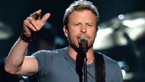 Dierks Bentley performs onstage during ACM Presents: An All-Star Salute To The Troops at the MGM Grand Garden Arena on April 7, 2014 in Las Vegas, Nevada.