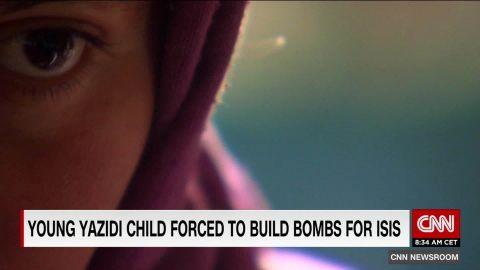 yazidi child bomb maker arwa damon pkg_00003329.jpg