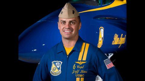Marine Capt. Jeff Kuss died in Tennessee crash.