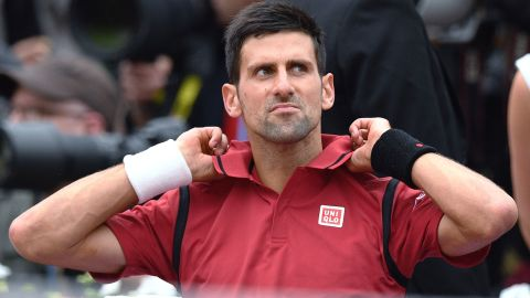 The world No. 1 becomes just the eighth man in history to win all four grand slam titles -- the French Open, Wimbledon, Australian Open and U.S. Open.