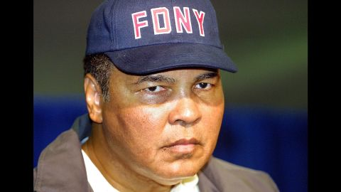 After the attacks of 9/11, Muhammad Ali spoke out against terrorism, saying that true followers of Islam are peaceful.