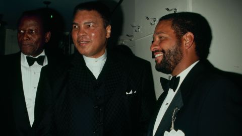 """Journalist Bryant Gumbel, right, will be among those eulogizing Ali on June 10. Ali was a good friend to the former """"Today"""" show host and sportscaster, the show said."""