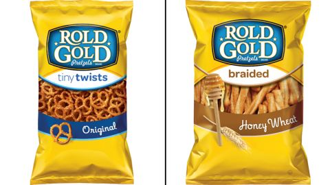 Four types of Rold Gold pretzels are included in the voluntary recall.