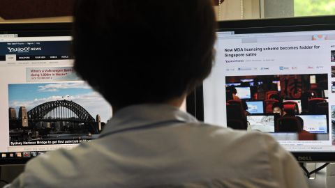 By next May the internet will be cut to all Singapore government workers.
