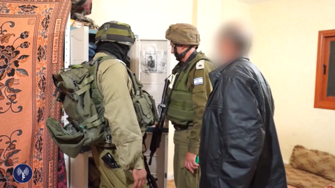 Israeli forces searched homes in Yatta, West Bank after a terror attack in Tel Aviv