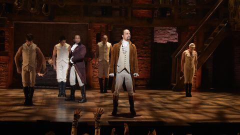 """Lin-Manuel Miranda's """"Hamilton"""" may make history at this weekend's Tony Awards."""