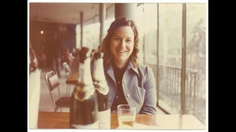 Martha Peterson in Tbilisi, Georgia in 1976, on the sidelines of her CIA mission in Soviet Russia.
